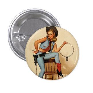 Vintage Retro Gil Elvgren Sheriff Pin Up Girl