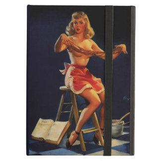 Vintage Retro Gil Elvgren Taffy maker Pinup girl iPad Air Cases