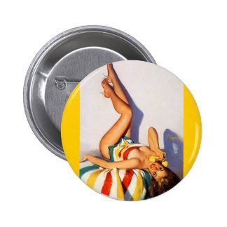 Vintage Retro Gil Elvgren telephone pin up Girl