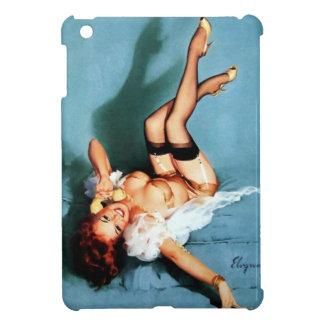 Vintage Retro Gil Elvgren Telephone Pinup girl Cover For The iPad Mini