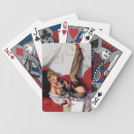 Vintage Retro Gil Elvgren Telephone Pinup girl Deck Of Cards