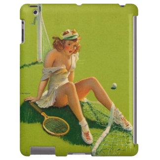 Vintage Retro Gil Elvgren Tennis Pinup Girl