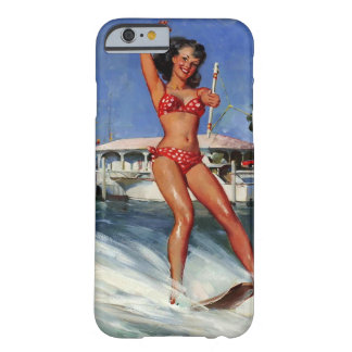 Vintage Retro Gil Elvgren Water Ski pinup girl Barely There iPhone 6 Case