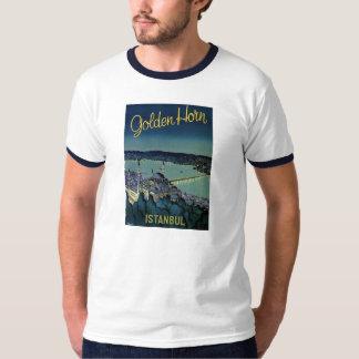 Vintage retro Golden Horn Istanbul Turkey travel T-Shirt