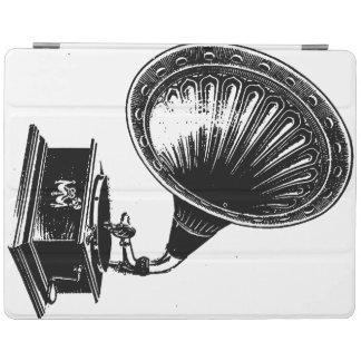 Vintage Retro Gramophone Victrola Record player iPad Smart Cover