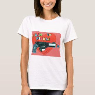 Vintage Retro Gun Valentine Card T-Shirt