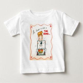 Vintage Retro Heart Xray Valentine Card Baby T-Shirt