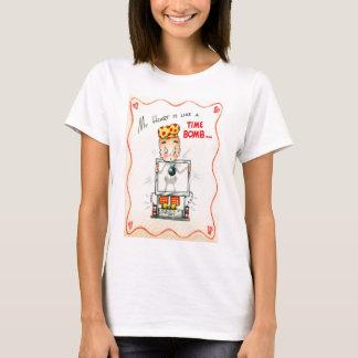 Vintage Retro Heart Xray Valentine Card T-Shirt