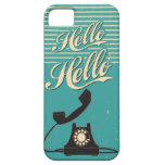 Vintage Retro Hello iPhone 5 5S Case iPhone 5/5S Cases