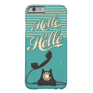 Vintage Retro Hello iPhone 6 case
