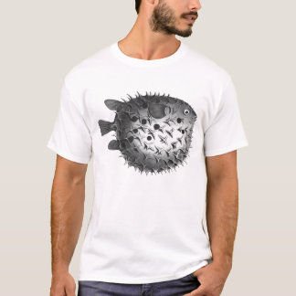 Vintage Retro Illustration Pufferfish T-Shirt