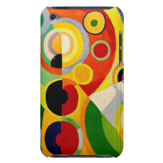Vintage Retro - Joy of Life by R Delauney iPod Touch Cases