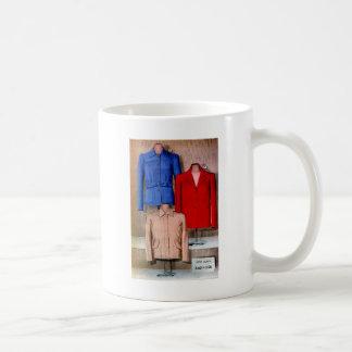 Vintage Retro Kitsch 40s Catalog Art Womens Coats Coffee Mug