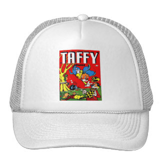 Vintage Retro Kitsch 40s Taffy Comic Book Trucker Hat