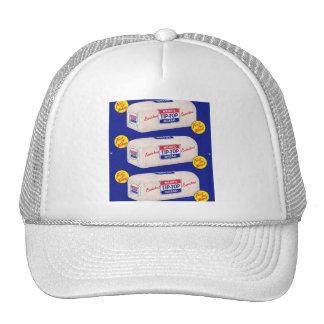 Vintage Retro Kitsch 40s Wards Tip Top Bread Trucker Hat