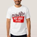 Vintage Retro Kitsch 50s Hot Rod Motors T-shirt