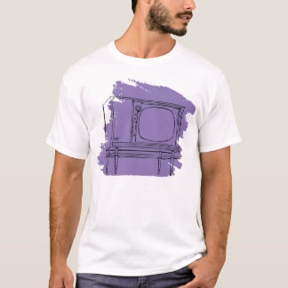 Vintage Retro Kitsch 50s TV Television Set T-Shirt