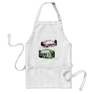 Vintage Retro Kitsch 60s Experiment Farm Cottage Adult Apron