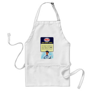 Vintage Retro Kitsch Argo Gas Service Station Ad Aprons