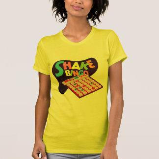 Vintage Retro Kitsch Board Game Shake Bingo T-Shirt