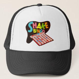 Vintage Retro Kitsch Board Game Shake Bingo Trucker Hat