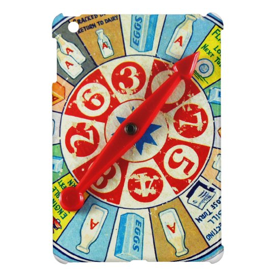 Vintage Retro Kitsch Board Game Spinning Wheel Case For The iPad Mini