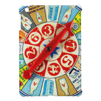 Vintage Retro Kitsch Board Game Spinning Wheel iPad Mini Covers