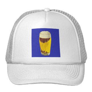 Vintage Retro Kitsch Brewery Beer Bier Glass Trucker Hat