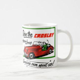 Vintage Retro Kitsch Car Auto Crosley Hotshot Coffee Mug