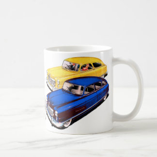 Vintage Retro Kitsch Car Nash Ambassador Art Coffee Mug