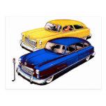 Vintage Retro Kitsch Car Nash Ambassador Art Post Card