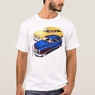 Vintage Retro Kitsch Car Nash Ambassador Art T-Shirt