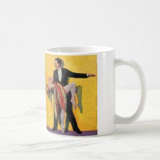 Vintage Retro Kitsch Deco Dancers Dancing Coffee Mug