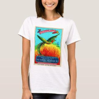 Vintage Retro Kitsch Firecracker Phoenix Rising T-Shirt