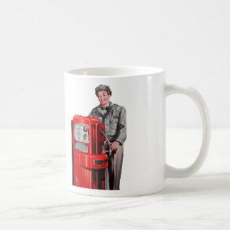 Vintage Retro Kitsch Gas Gasoline Station Gus Coffee Mug