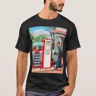 Vintage Retro Kitsch Gasoline Station Filler Up T-Shirt