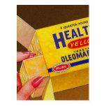 Vintage Retro Kitsch Healtho Margarine Butter Post Cards