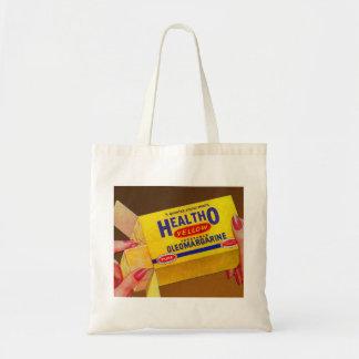 Vintage Retro Kitsch Healtho Margarine Butter Tote Bag