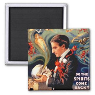 Vintage Retro Kitsch Magic Thurston Ghosts Spirits Magnet
