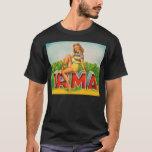 Vintage Retro Kitsch Pin Up Fruit Crate Irma T-Shirt