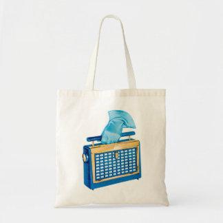 Vintage Retro Kitsch Portable Transistor Radio Tote Bag