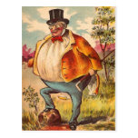 Vintage Retro Kitsch Postcard Orange County Man