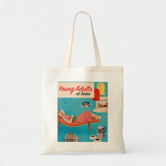 Vintage Retro Kitsch Suburbs Young Adults at Home Bag