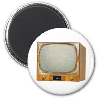 Vintage Retro Kitsch TV Television Set Magnet