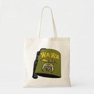Vintage Retro Kitsch Wa-Wa Fez Cap Tote Bag