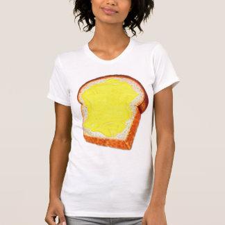 Vintage Retro Kitsch White Bread & Butter Tee Shirts