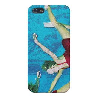 Vintage Retro Kitsch Women Underwater Nymphs Case For iPhone SE/5/5s