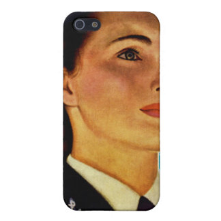 Vintage Retro Military Women WAVEs Navy Cover For iPhone SE/5/5s