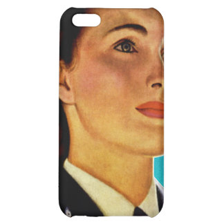 Vintage Retro Military Women WAVEs Navy iPhone 5C Covers