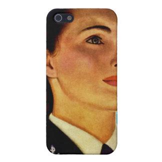 Vintage Retro Military Women WAVEs Navy iPhone SE/5/5s Case